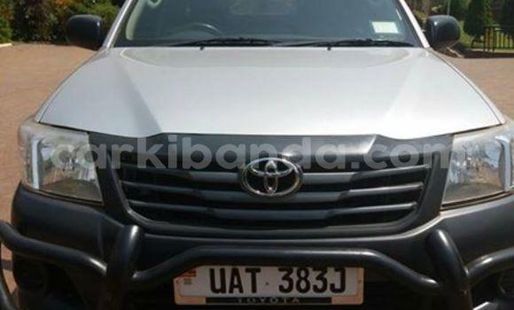 Buy Used Toyota Hilux Silver Car in Kampala in Uganda
