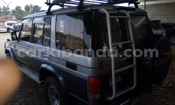 Buy New Toyota Land Cruiser Prado Silver Car in Kampala in Uganda