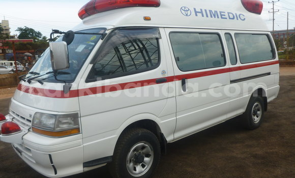 Buy New Toyota HiAce White Truck in Kampala in Uganda