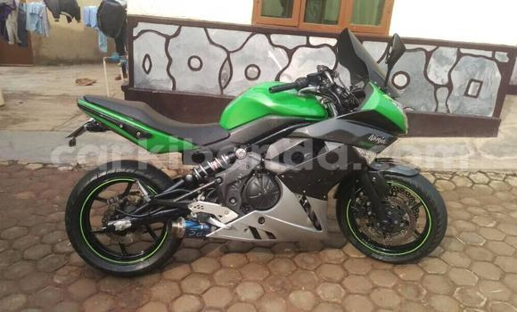 Buy Used Kawasaki Ninja 250R Green Bike in Kampala in Uganda