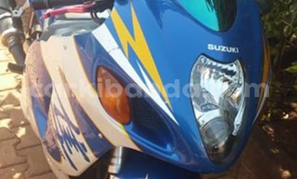 Buy Used Suzuki Hayabusa Blue Bike in Kampala in Uganda