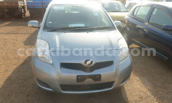 Buy Used Toyota Vitz Silver Car in Arua in Uganda