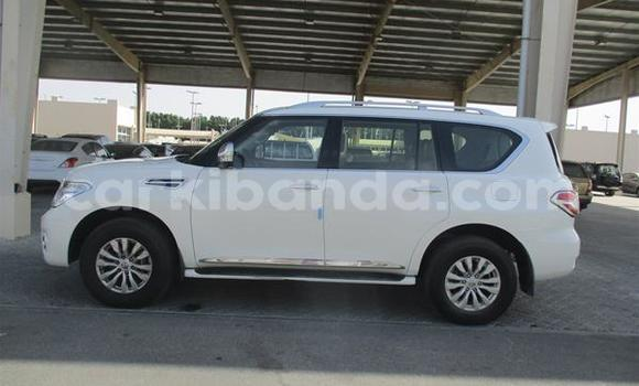 Buy Used Nissan Patrol White Car in Entebbe in Uganda