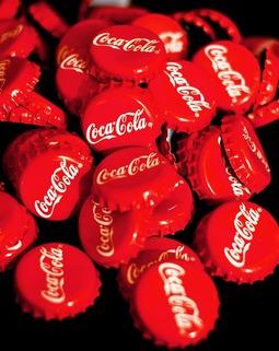 Thumb coca cola