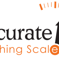 Medium accurate weighing scales logo